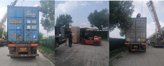 ENRIC BENGBU CNG Station Equipment Ready to Sent Uzbekistan