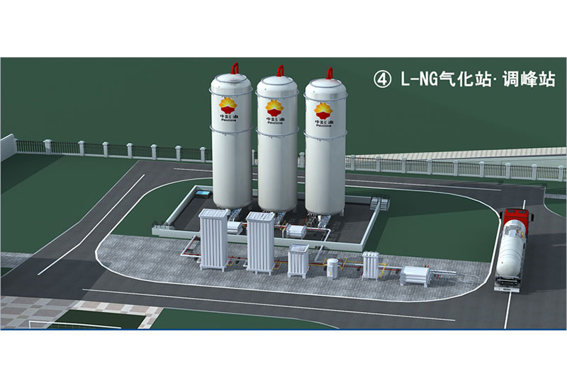L-NG Vaporizing Station