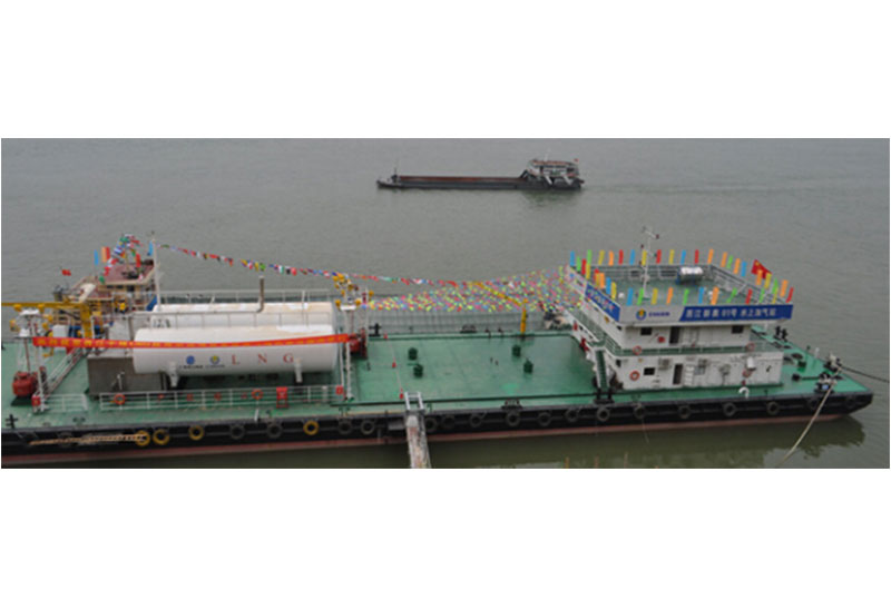 LNG Bunkering Pontoon Equipment